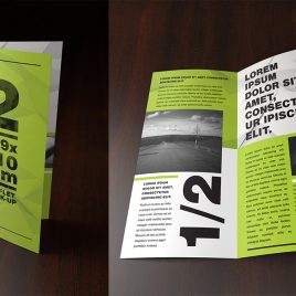 Folded-Leaflets 130GSM – Gloss